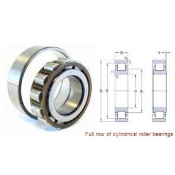 NCF2864V Full row of cylindrical roller bearings